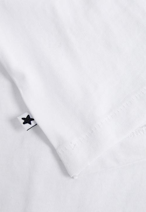 Next White Short Sleeve T-Shirts Five Pack (3mths-6yrs)