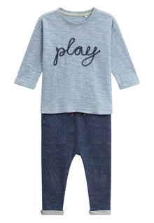 Next Play Crew And Joggers Set (3mths-6yrs)