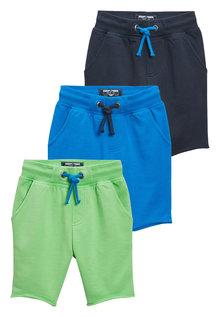 Next Longline Shorts Three Pack (3mths-6yrs)