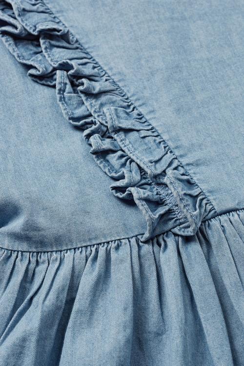 Next Denim Ruffle Dress (3-16yrs)