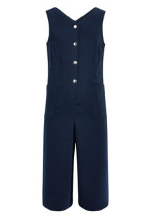 Next Navy Culotte Playsuit (3-16yrs)