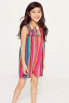 Next Stripe Playsuit (3-16yrs)