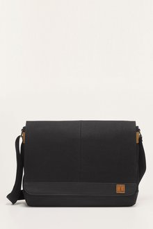 Next Canvas Messenger Bag