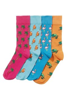Next Conversational Socks Four Pack