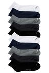 Next Mid Cut Sports Socks Ten Pack