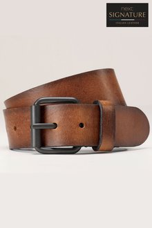 Next Signature Italian Leather Belt - 202107
