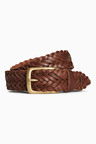 Next Weave Leather Belt