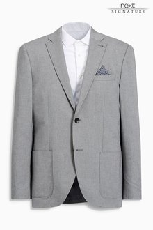 Next Signature Cotton Tailored Fit Jacket