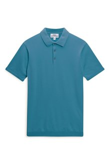Next Short Sleeve Knitted Polo