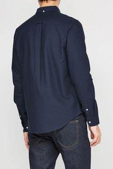 Next Navy Long Sleeve Oxford Shirt