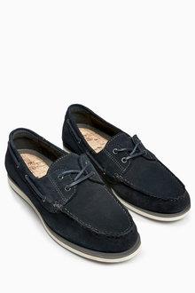 Next Suede Boat Shoe