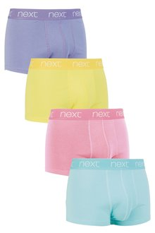 Next Pastel Colour Hipsters Four Pack