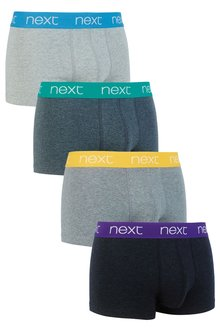 Next Bright Waistband Hipsters Four Pack