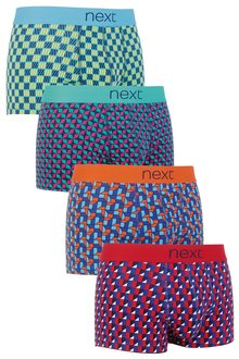 Next Block Geo Hipsters Four Pack