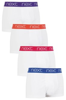 Next Colour Waistband Hipsters Four Pack