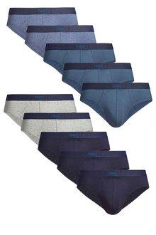 Next Blue Briefs Ten Pack