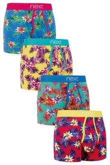 Next Hawaii Floral A-Fronts Four Pack