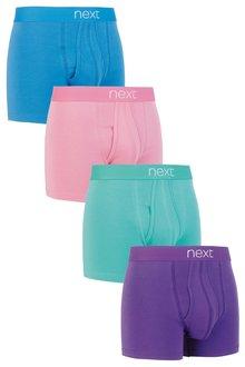 Next Pastel Colour A-Fronts Four Pack