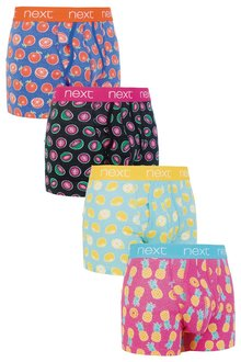 Next Fruit Print A-Fronts Four Pack