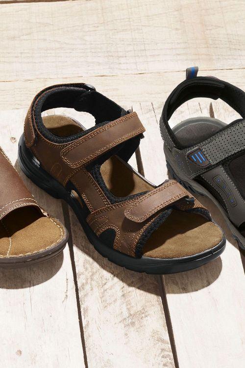 Next Leather Trek Sandal