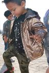 Next Bronze Metallic Jacket (3mths-6yrs)