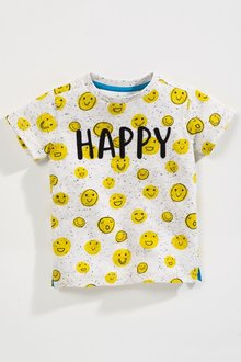 Next Short Sleeve T-Shirt (3mths-6yrs)