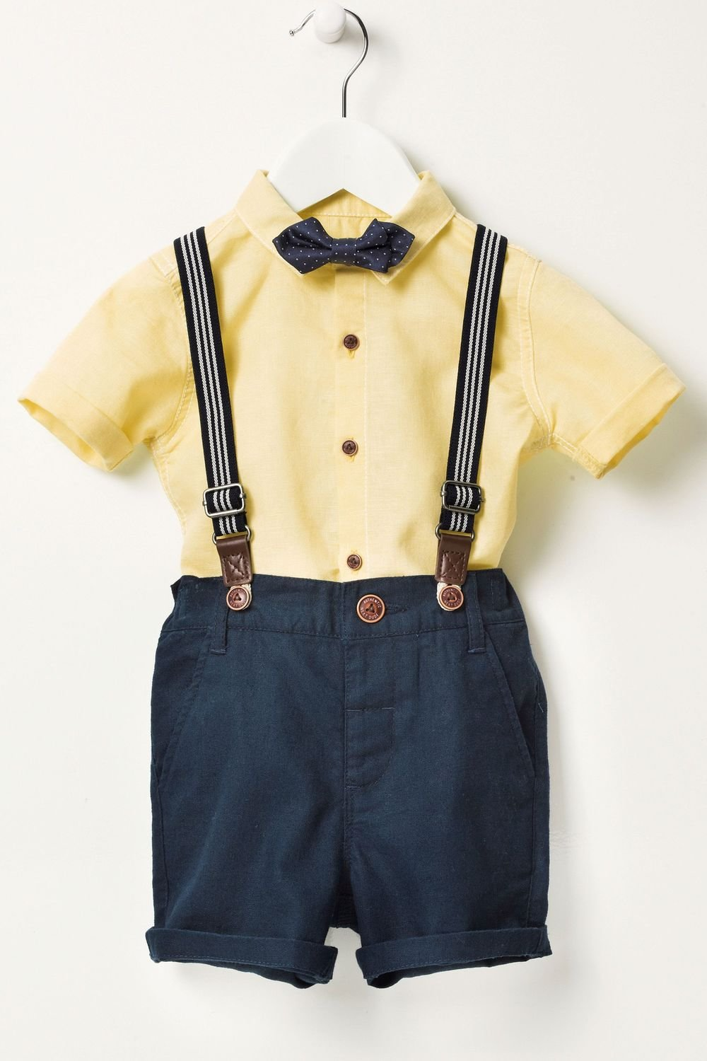 f176932e32be Next Shirt Shorts And Bow Tie Set (3mths-6yrs) Online