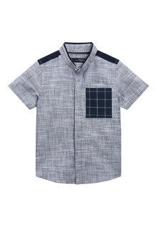 Next Check Pocket Shirt (3mths-6yrs)