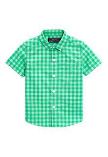 Next Gingham Short Sleeve Shirt (3mths-6yrs)