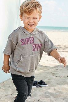 Next Short Sleeve Superstar Hoody (3mths-6yrs)