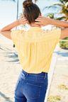 Next Short Sleeve Stripe Shirt - Petite