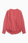 Next Tencel  Wrap Top