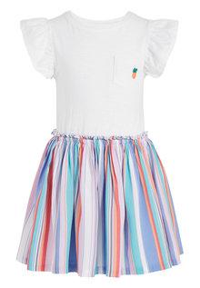 Next Stripe Dress (3-16yrs)