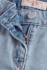 Next Denim Frayed Hem Shorts (3-16yrs)