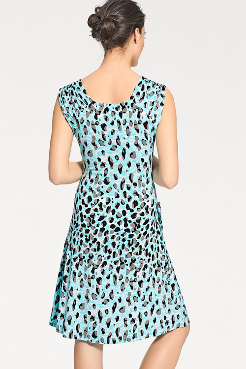 Heine Wrap Effect Printed Dress