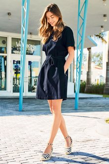 Next Denim Jersey Dress - Tall