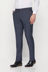 Next Textured Birdseye Suit: Trousers - Slim Fit