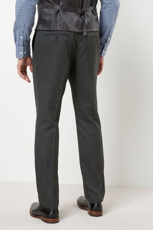 Next Textured Suit: Trousers