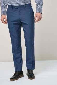 Next Signature Textured Tailored Fit Suit: Trousers