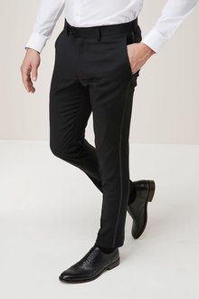 Next Signature Tuxedo Suit: Trousers - Skinny Fit
