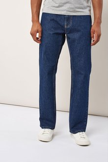 Next Mid Blue Slim Fit Jeans