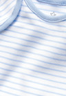 Next Blue/White Short Sleeve Bodysuits Four Pack (0mths-3yrs)