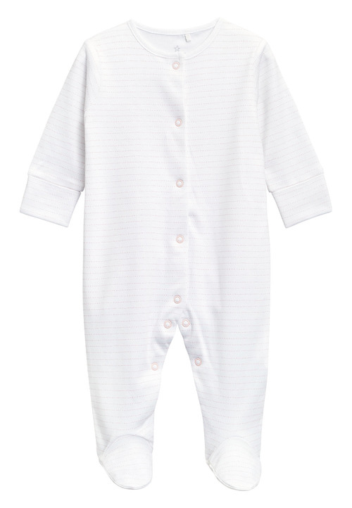 Next Sleepsuits Four Pack (0mths-2yrs)