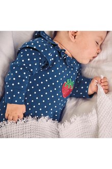 Next Strawberry Sleepsuits Three Pack (0mths-2yrs)
