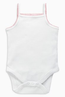 Next Vests Three Pack (0mths-2yrs) - 202738