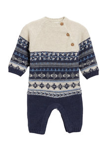 Next Patterned Romper (0mths-2yrs)