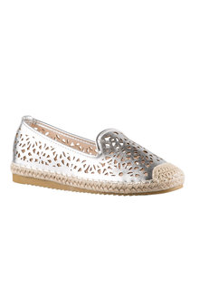 Wide Fit Nyssa Slip On Court Flat