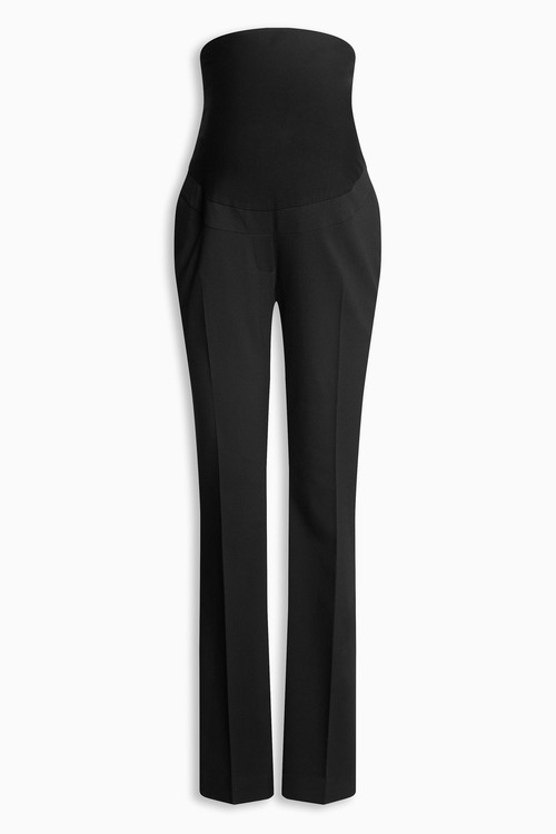 Next Maternity Over The Bump Boot Cut Trousers