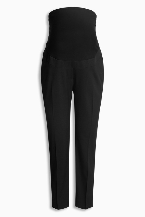 Next Maternity Over The Bump Taper Trousers