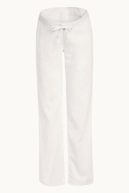Next Maternity Linen Blend Trousers